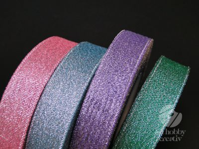 Panglica decor - culori metalice 22m/2cm