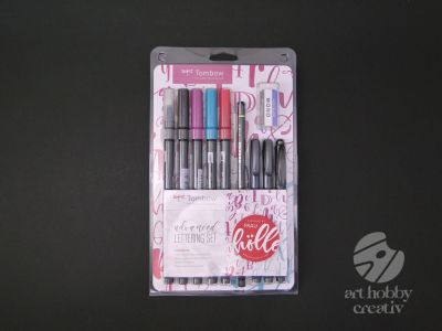 Set caligrafie si acuarela - Tombow set/10buc