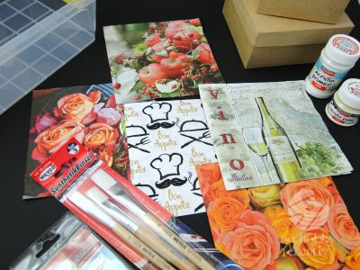 Set complet decoupage