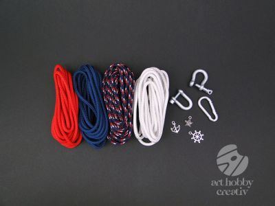 Paracord set nuante - NAVY mod.1