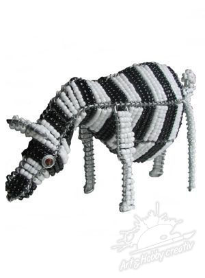 Animale din margele - Zebra